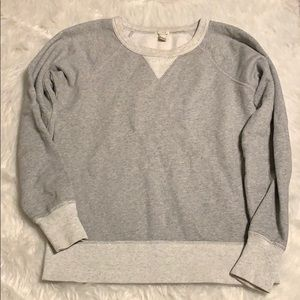 J. Crew gray pullover sweater size xs